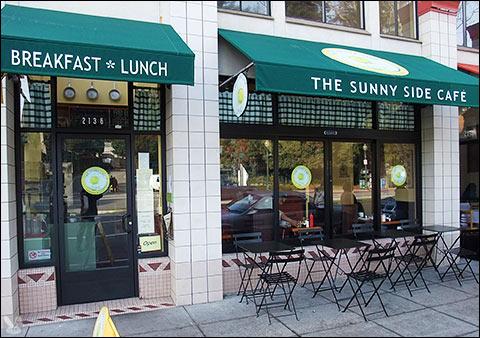 The Sunny Side Cafe Berkeley Ca