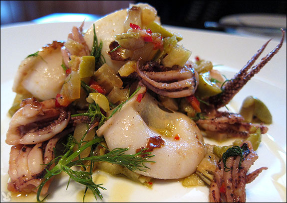 How To Make Calamari Plancha