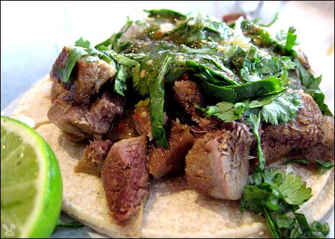 Tacos de Cazo are meats deep fried in lard usually containing pork ...